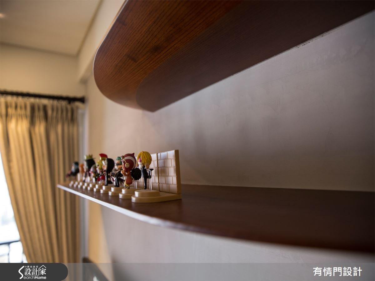 25坪新成屋(5年以下)_混搭風案例圖片_有情門_有情門_03之4