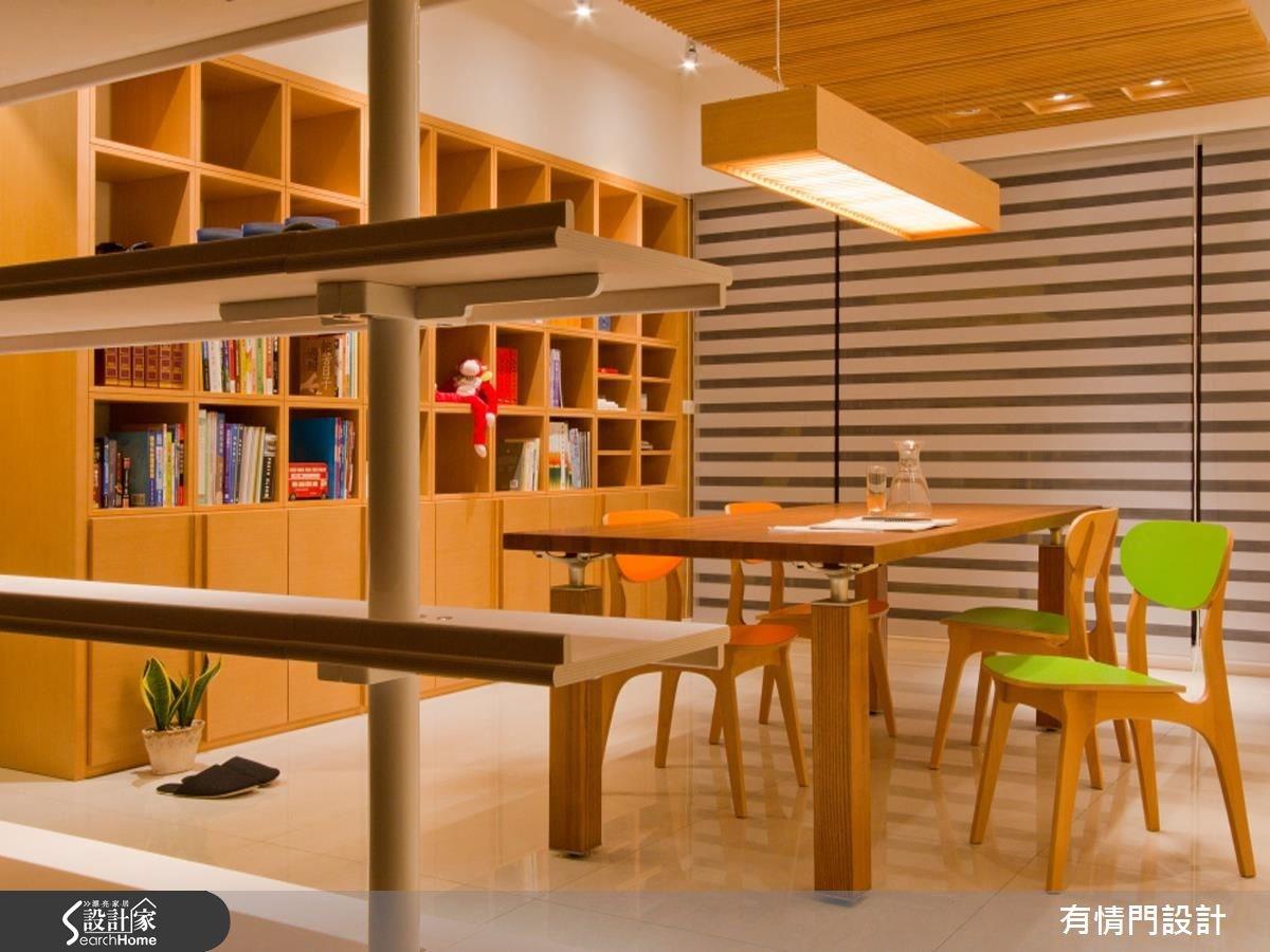 20坪新成屋(5年以下)_工業風餐廳書房案例圖片_有情門_有情門_06之3