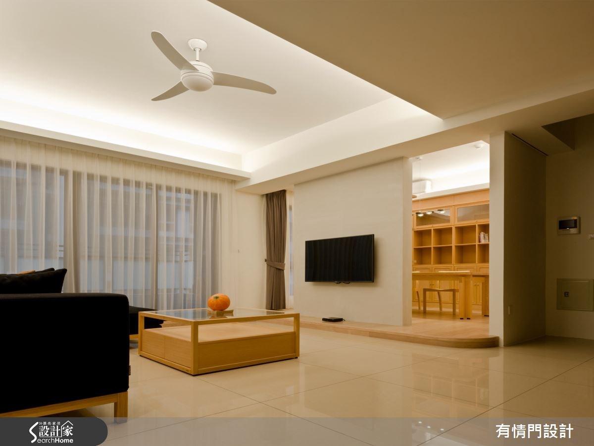 37坪新成屋(5年以下)_北歐風客廳案例圖片_有情門_有情門_07之1