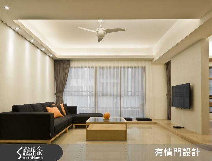 37坪新成屋(5年以下)_北歐風客廳案例圖片_有情門_有情門_07之2