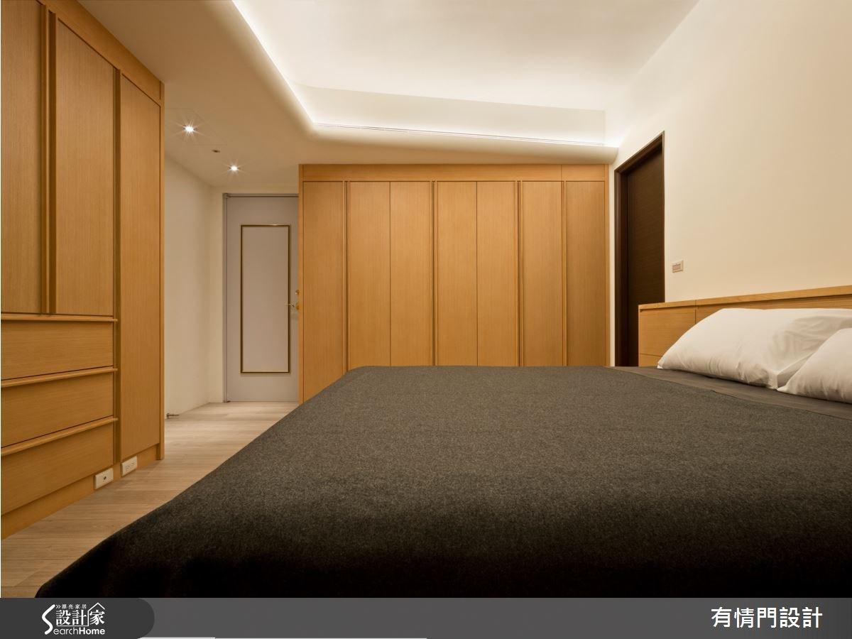 37坪新成屋(5年以下)_北歐風臥室案例圖片_有情門_有情門_07之5
