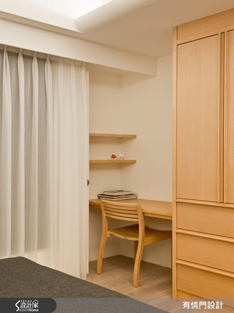 37坪新成屋(5年以下)_北歐風臥室案例圖片_有情門_有情門_07之6
