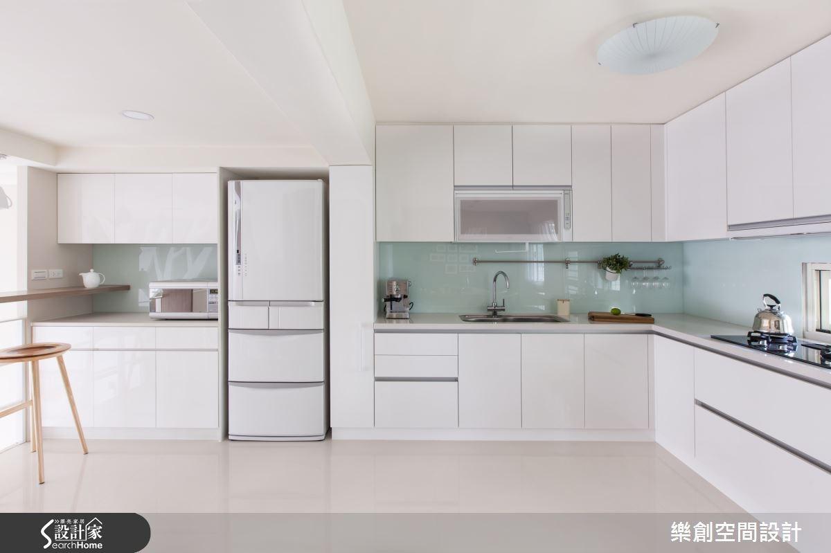 老屋(16~30年)_北歐風廚房案例圖片_樂創空間設計_樂創_03之5