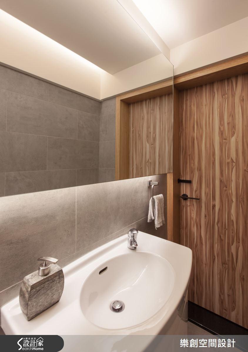 老屋(16~30年)_北歐風浴室案例圖片_樂創空間設計_樂創_03之32