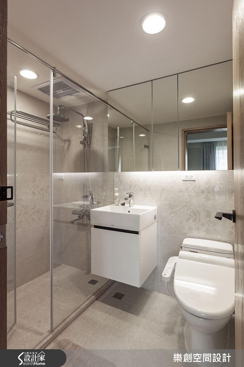老屋(16~30年)_北歐風浴室案例圖片_樂創空間設計_樂創_03之37