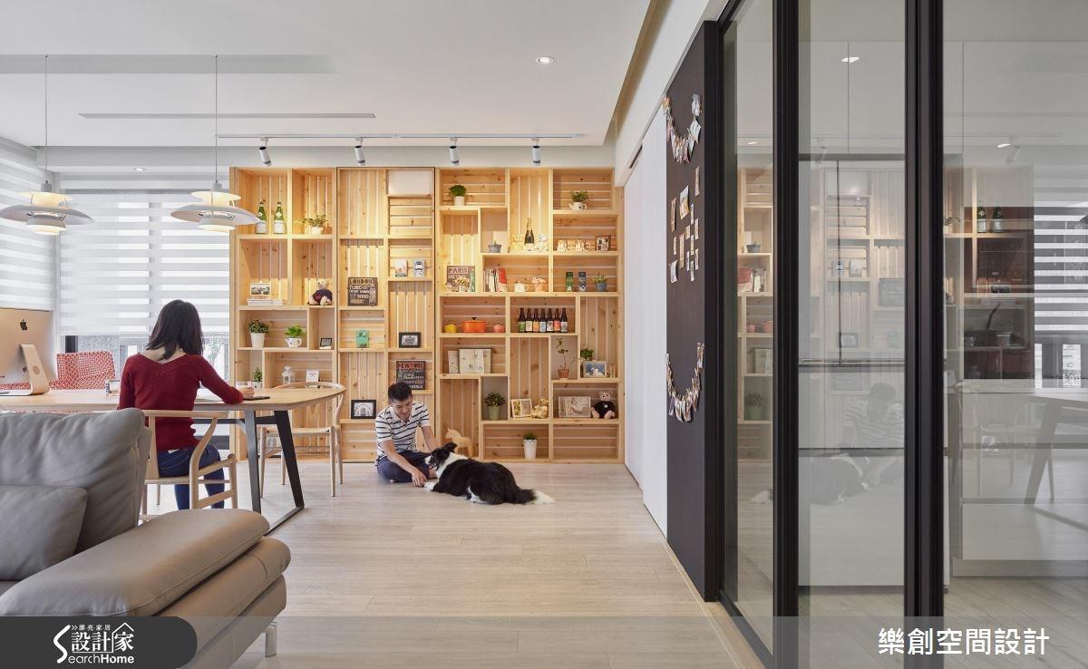 新成屋(5年以下)_北歐風客廳案例圖片_樂創空間設計_樂創_06之3