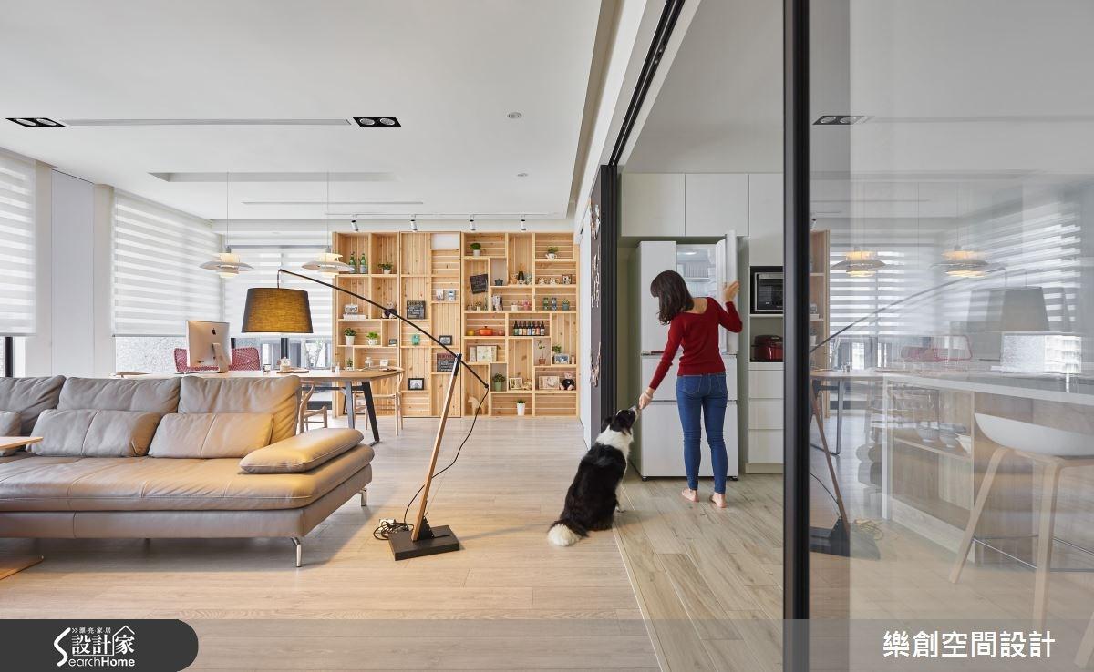 新成屋(5年以下)_北歐風客廳案例圖片_樂創空間設計_樂創_06之4