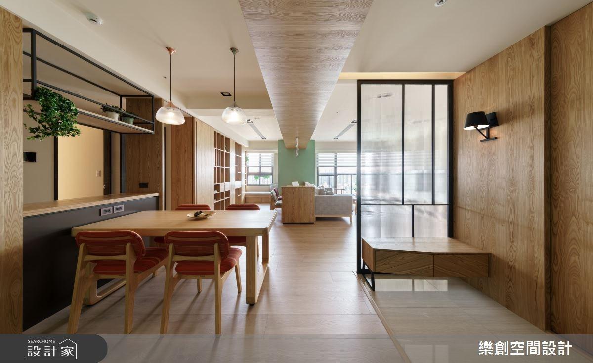 新成屋(5年以下)_混搭風餐廳案例圖片_樂創空間設計_樂創_07之2