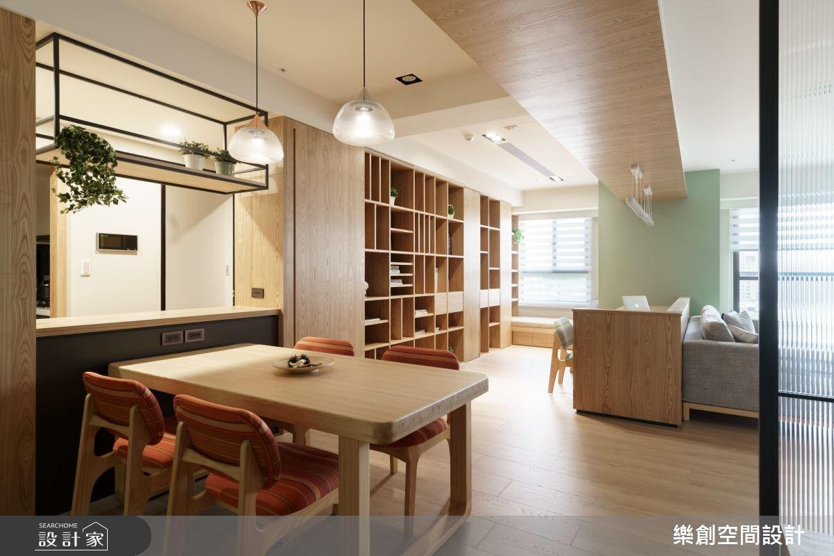 新成屋(5年以下)_混搭風餐廳案例圖片_樂創空間設計_樂創_07之4