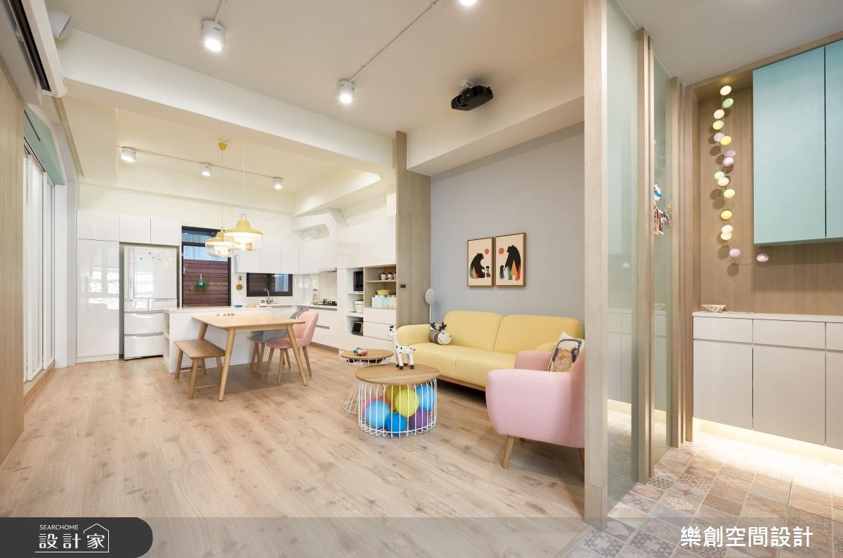新成屋(5年以下)_北歐風客廳餐廳案例圖片_樂創空間設計_樂創_09之4