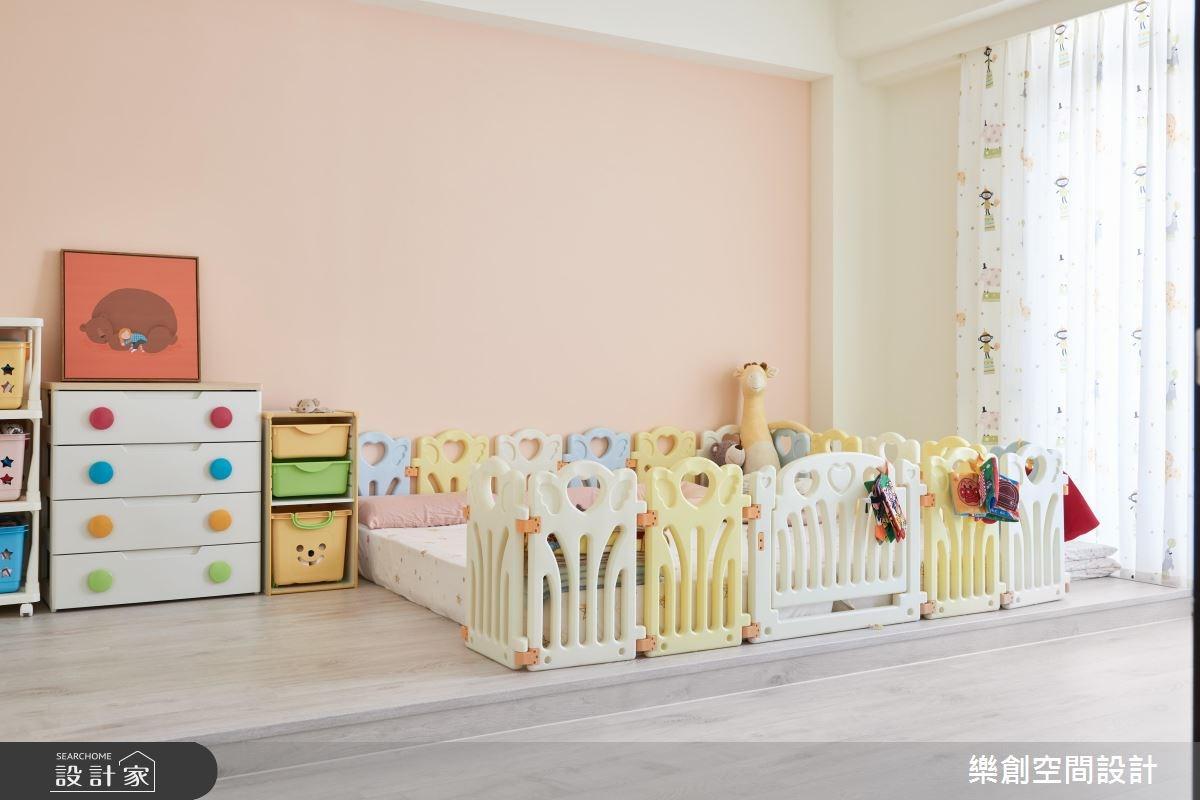新成屋(5年以下)_北歐風兒童房兒童房案例圖片_樂創空間設計_樂創_09之21