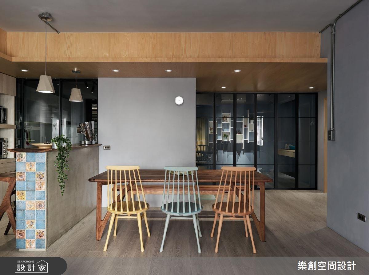 老屋(16~30年)_混搭風餐廳案例圖片_樂創空間設計_樂創_10之10