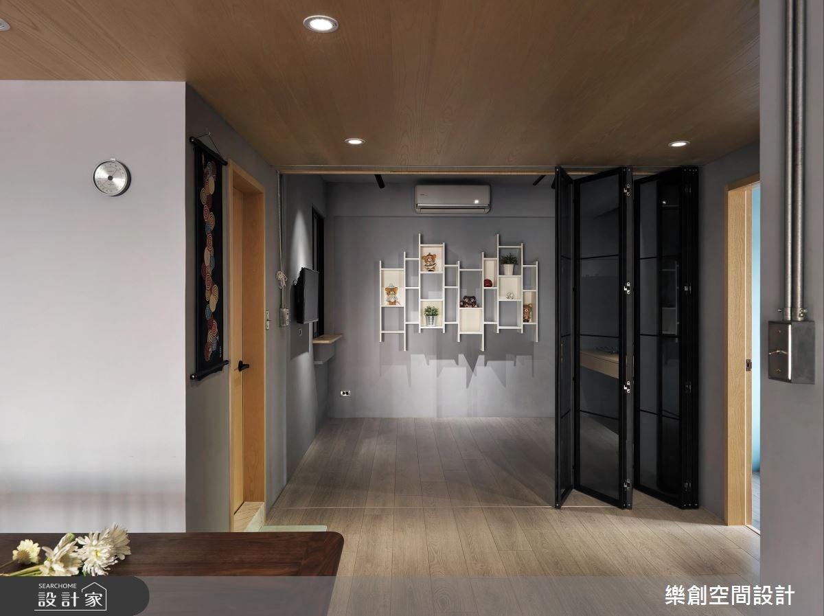老屋(16~30年)_混搭風書房案例圖片_樂創空間設計_樂創_10之11