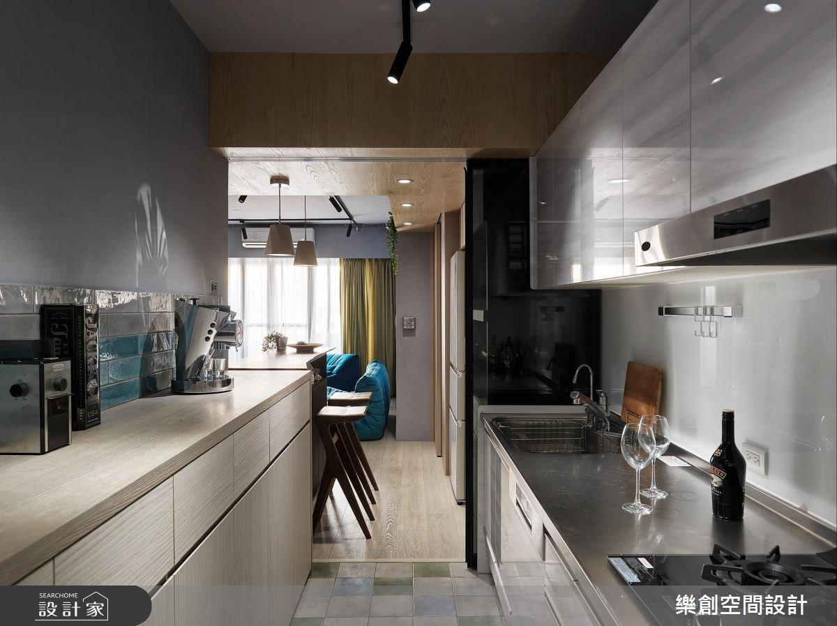老屋(16~30年)_混搭風廚房案例圖片_樂創空間設計_樂創_10之15