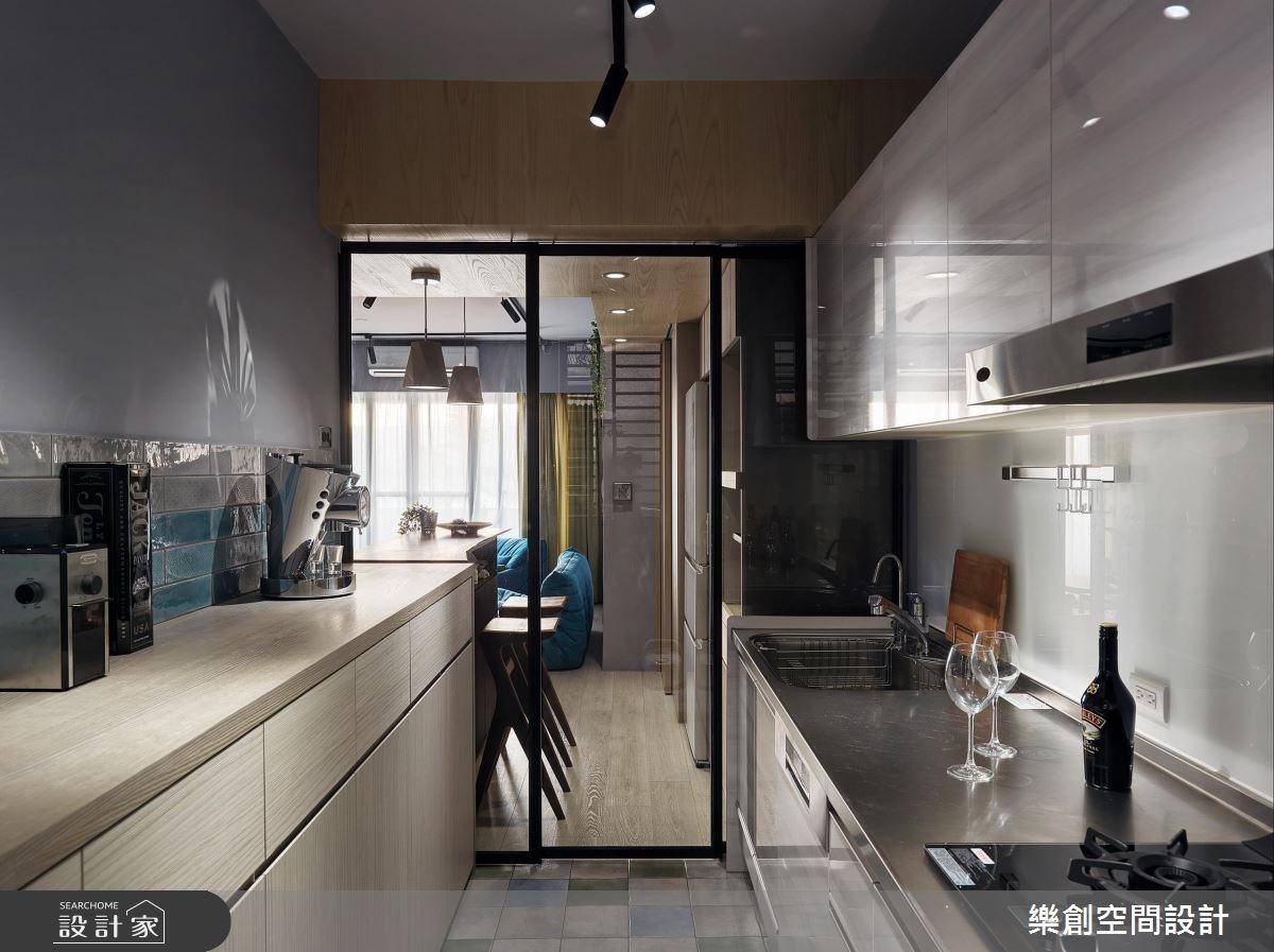 老屋(16~30年)_混搭風廚房案例圖片_樂創空間設計_樂創_10之16