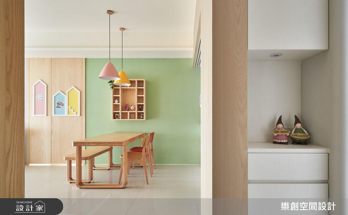 新成屋(5年以下)_北歐風餐廳案例圖片_樂創空間設計_樂創_12之2