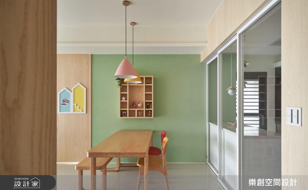 新成屋(5年以下)_北歐風餐廳案例圖片_樂創空間設計_樂創_12之3