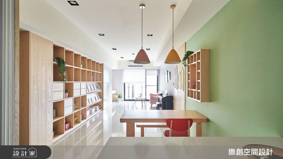 新成屋(5年以下)_北歐風餐廳案例圖片_樂創空間設計_樂創_12之4