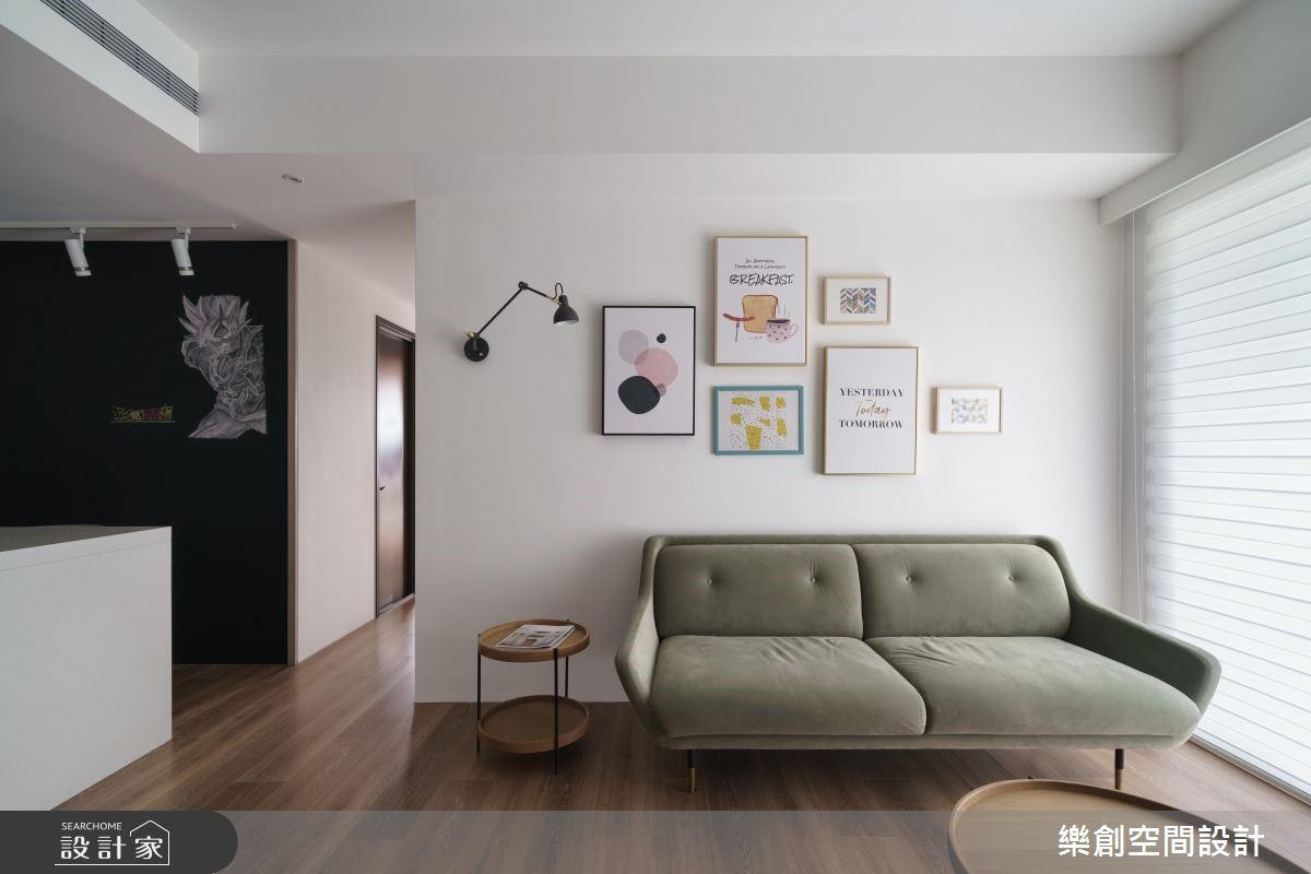 預售屋_北歐風客廳案例圖片_樂創空間設計_樂創_14之4