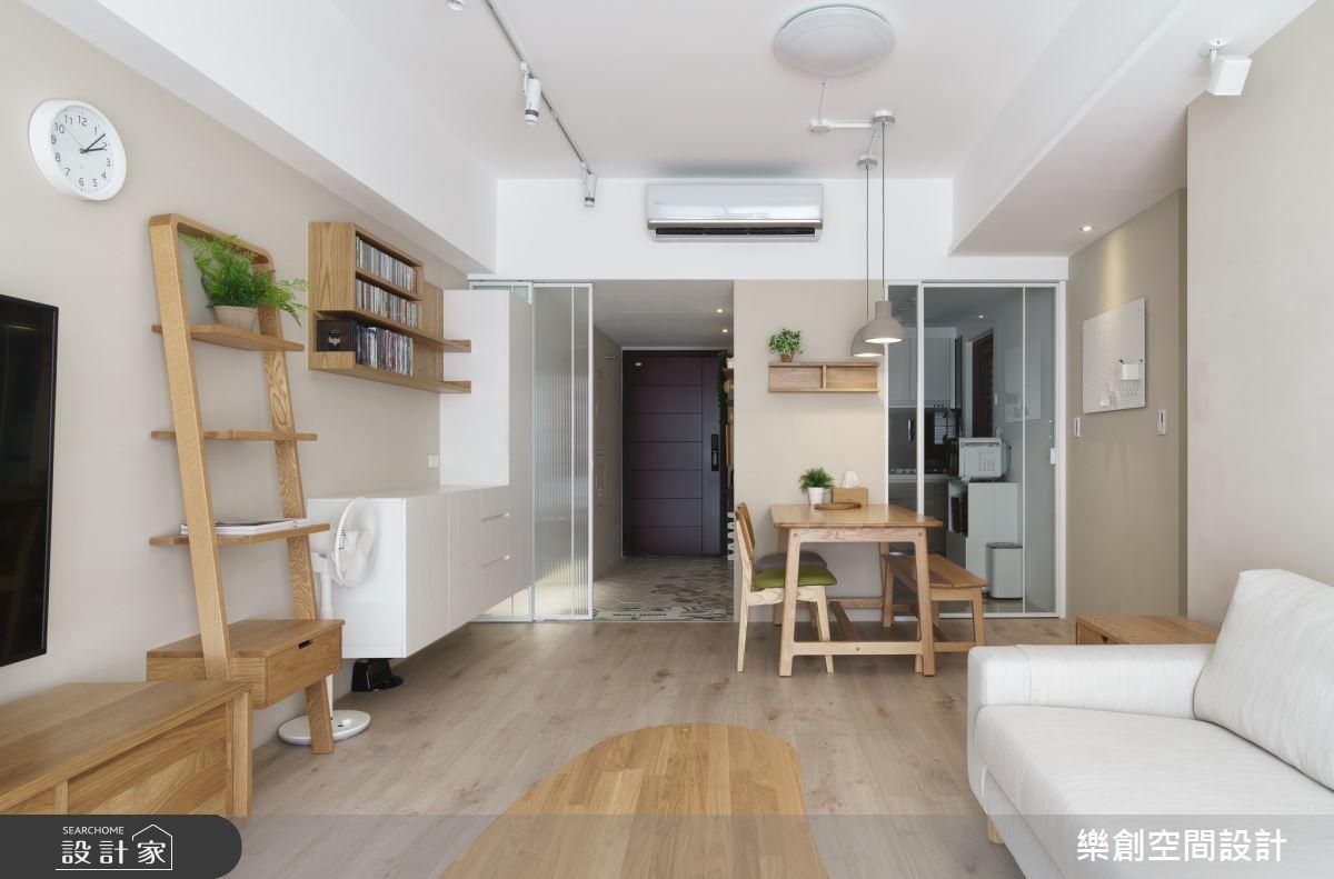 新成屋(5年以下)_日式無印風客廳案例圖片_樂創空間設計_樂創_16之5