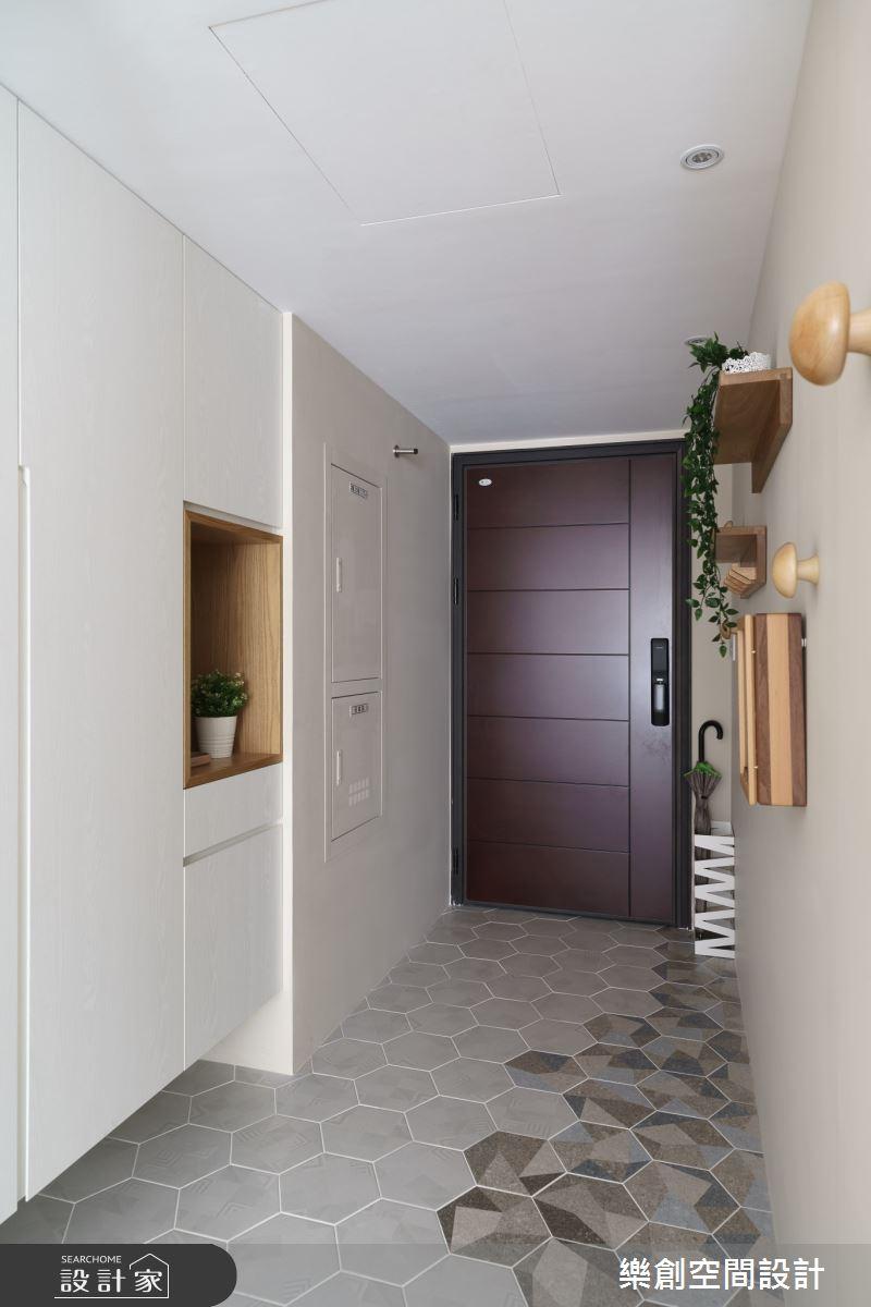 新成屋(5年以下)_日式無印風玄關案例圖片_樂創空間設計_樂創_16之2