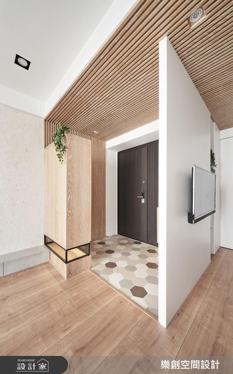 新成屋(5年以下)_簡約風玄關案例圖片_樂創空間設計_樂創_18之2
