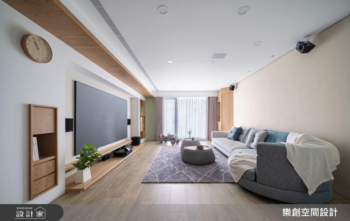 新成屋(5年以下)_北歐風客廳案例圖片_樂創空間設計_樂創_19之4