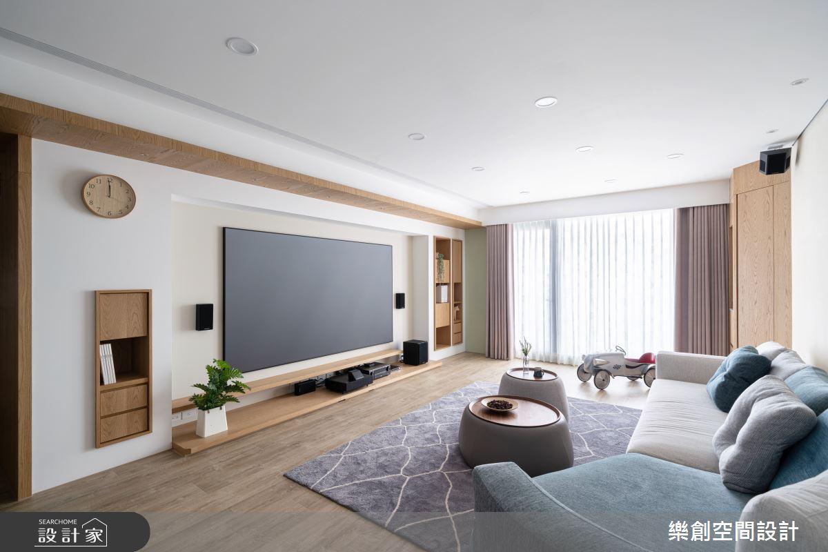 新成屋(5年以下)_北歐風客廳案例圖片_樂創空間設計_樂創_19之5