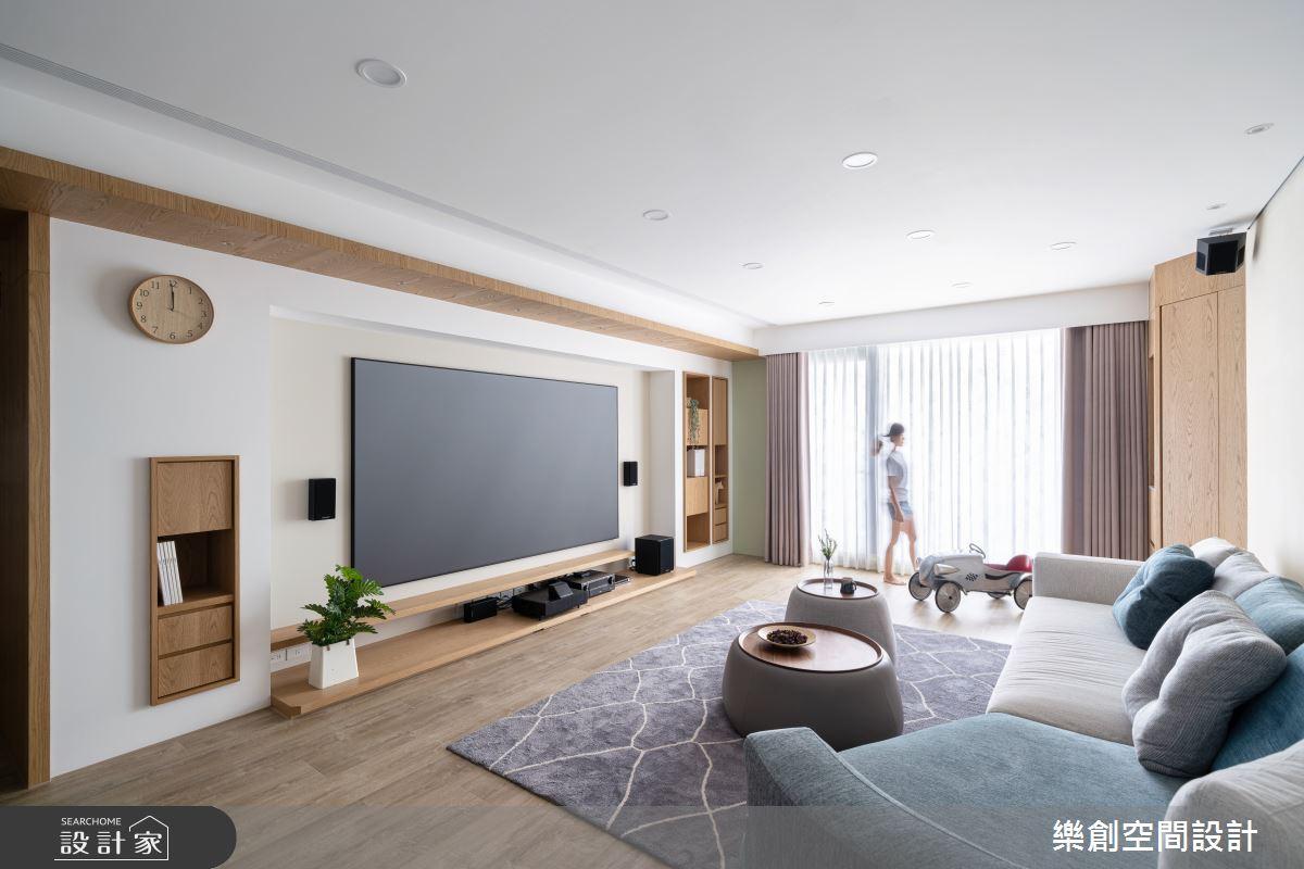 新成屋(5年以下)_北歐風客廳案例圖片_樂創空間設計_樂創_19之6