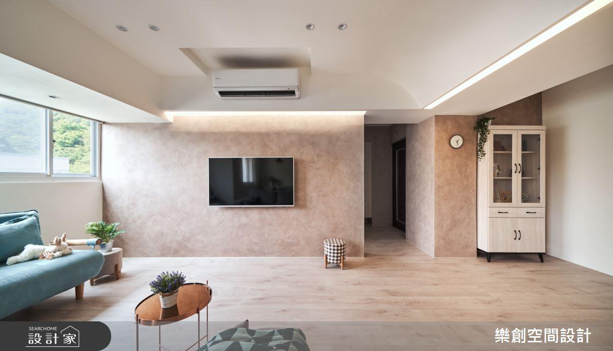 22坪老屋(31~40年)_現代風客廳案例圖片_樂創空間設計_樂創_22A house之11