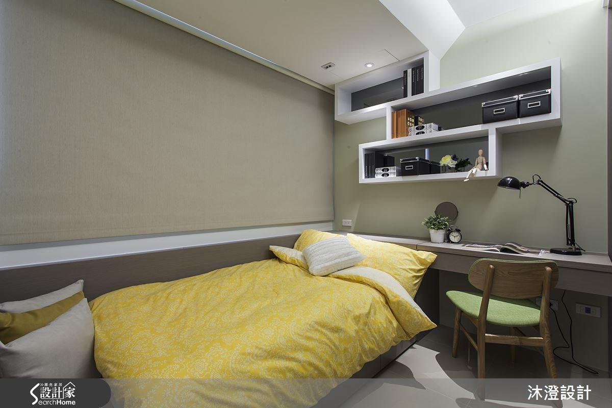 40坪新成屋(5年以下)_現代風臥室案例圖片_沐澄設計有限公司_沐澄_01之10