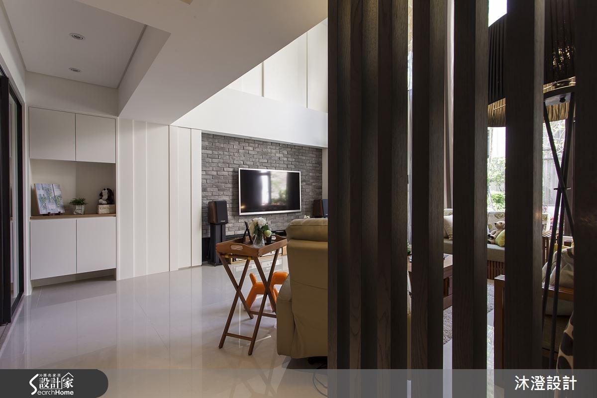 85坪新成屋(5年以下)_混搭風走廊案例圖片_沐澄設計有限公司_沐澄_05之4