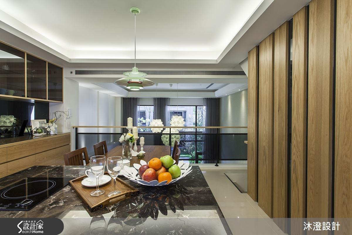85坪新成屋(5年以下)_混搭風餐廳案例圖片_沐澄設計有限公司_沐澄_05之7
