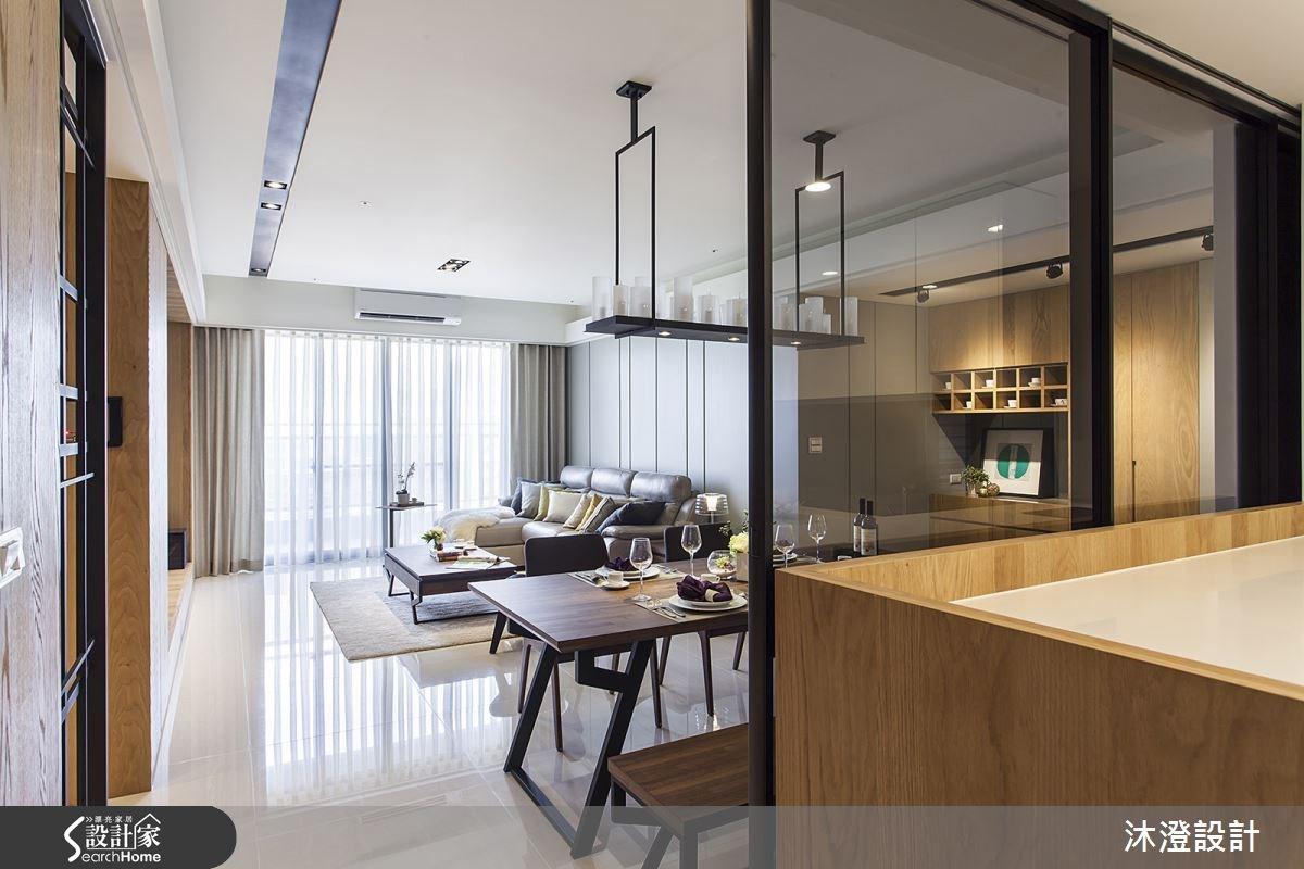 65坪新成屋(5年以下)_現代風客廳餐廳案例圖片_沐澄設計有限公司_沐澄_08之1