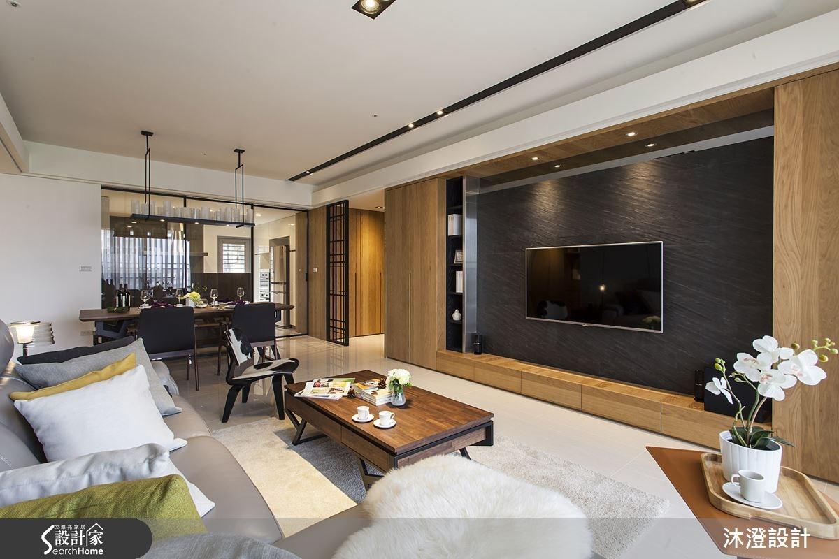 65坪新成屋(5年以下)_現代風客廳案例圖片_沐澄設計有限公司_沐澄_08之3