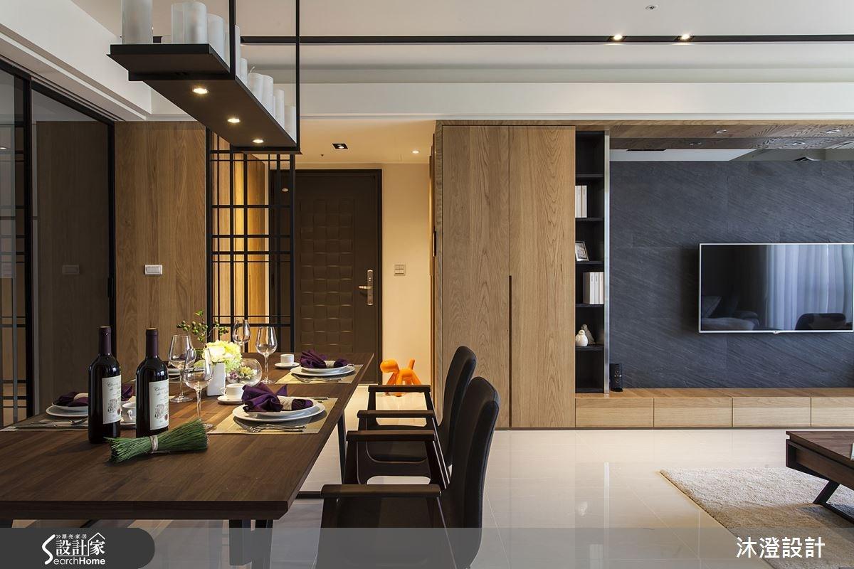 65坪新成屋(5年以下)_現代風餐廳案例圖片_沐澄設計有限公司_沐澄_08之5