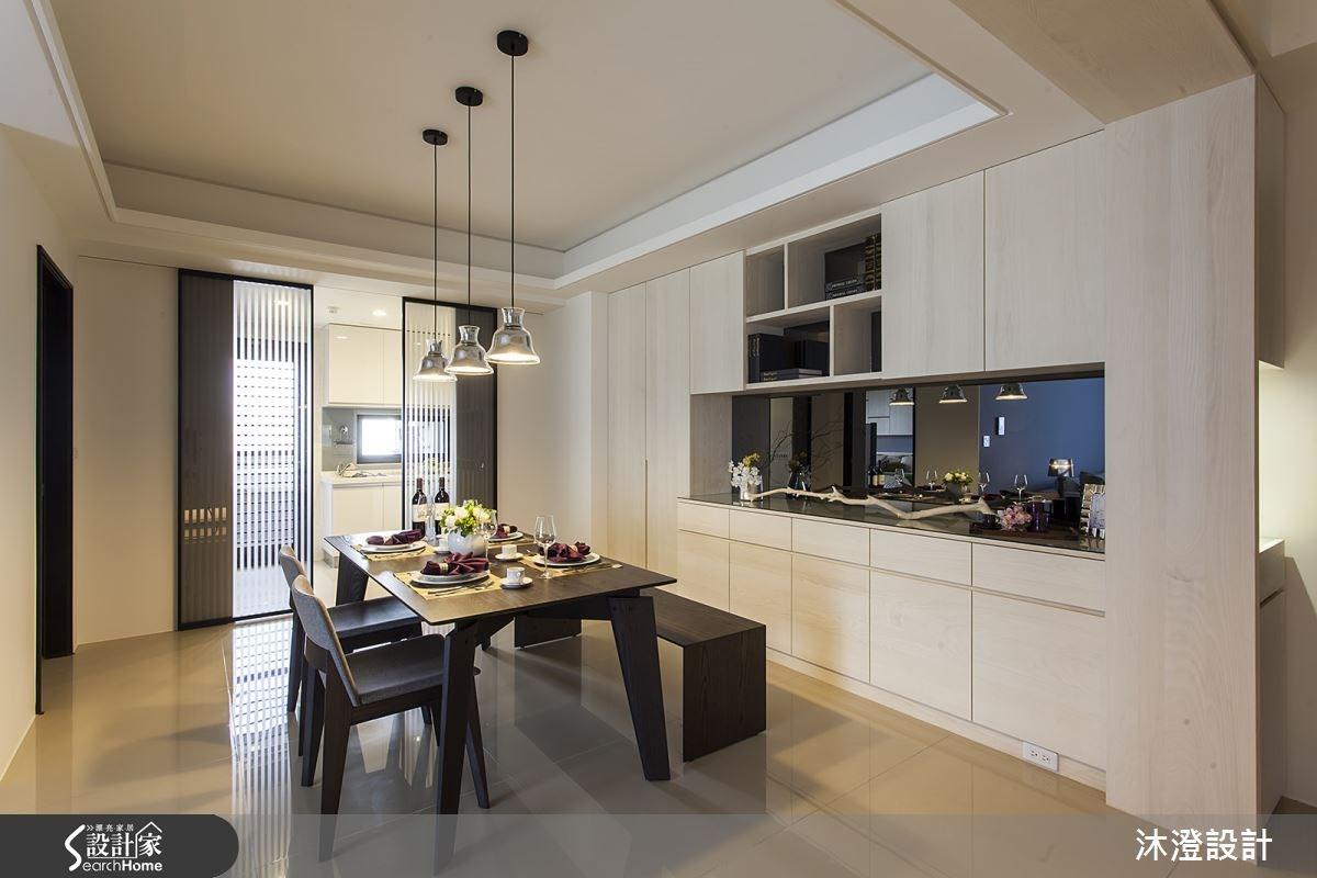 60坪新成屋(5年以下)_現代風餐廳案例圖片_沐澄設計有限公司_沐澄_11之8