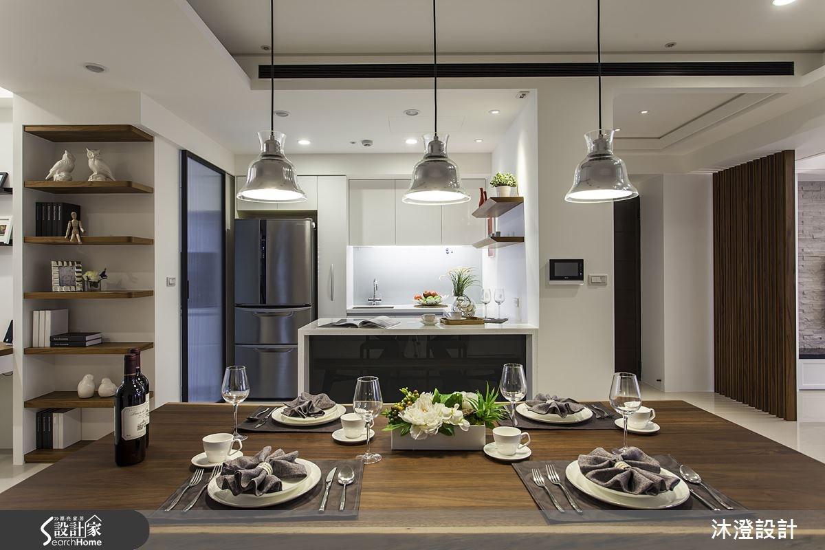 56坪新成屋(5年以下)_混搭風餐廳廚房案例圖片_沐澄設計有限公司_沐澄_14之6