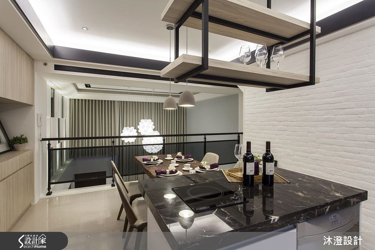 75坪新成屋(5年以下)_現代風餐廳案例圖片_沐澄設計有限公司_沐澄_16之7