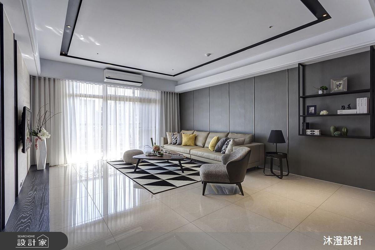 68坪新成屋(5年以下)_現代風客廳案例圖片_沐澄設計有限公司_沐澄_21之2