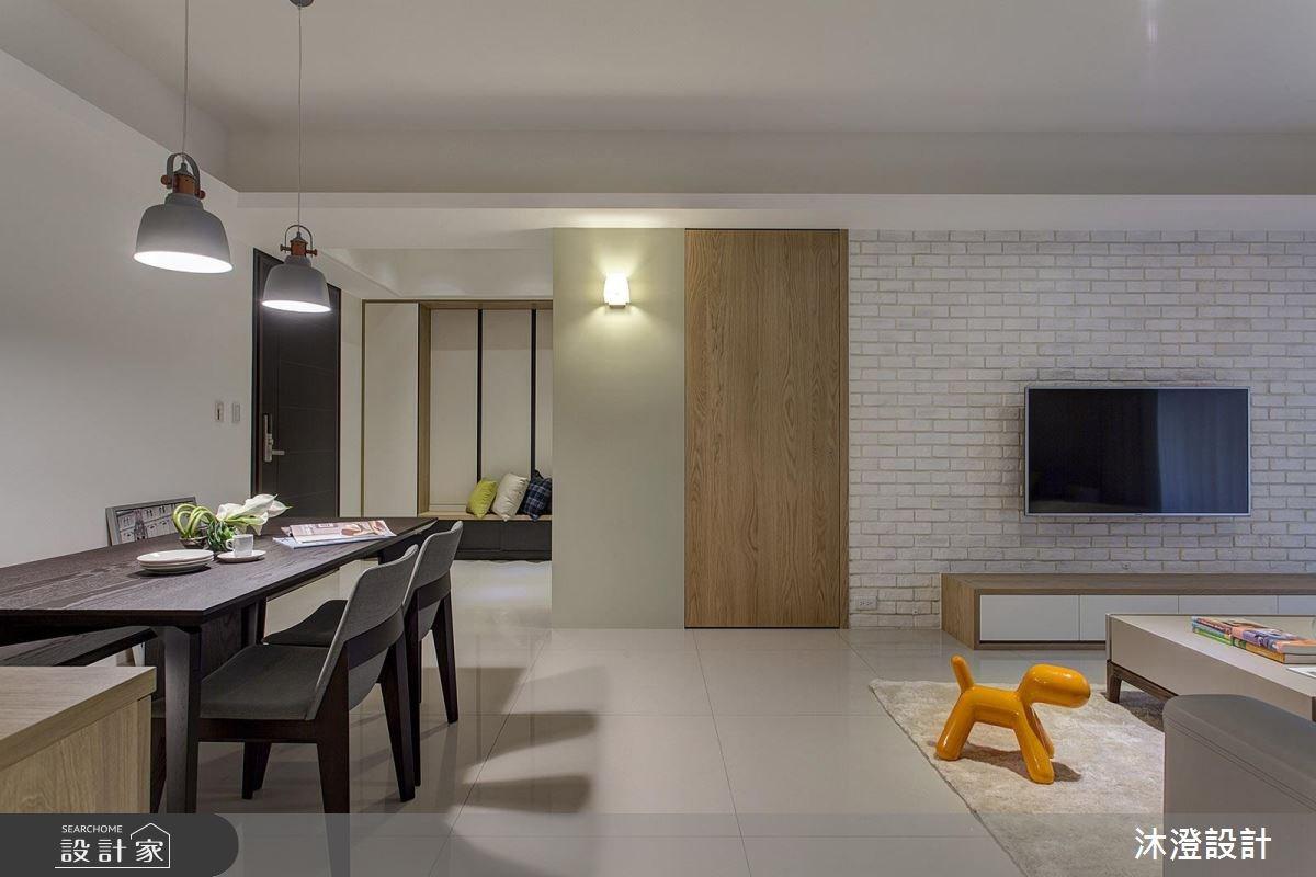 66坪新成屋(5年以下)_北歐風餐廳案例圖片_沐澄設計有限公司_沐澄_26之1