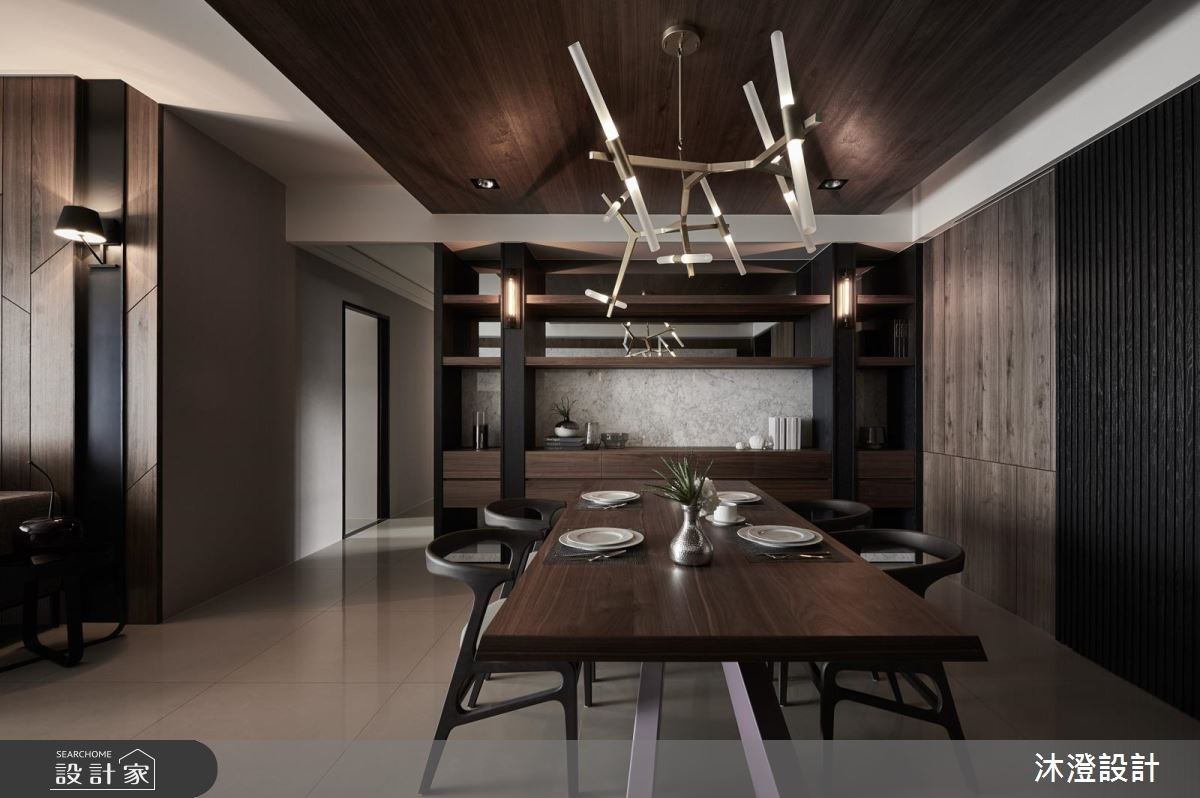 66坪新成屋(5年以下)_現代風餐廳案例圖片_沐澄設計有限公司_沐澄_29之3