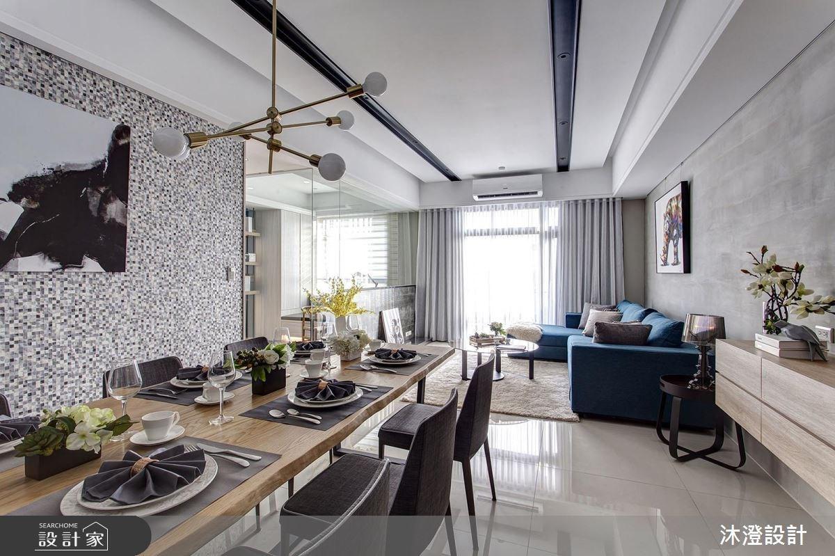 68坪新成屋(5年以下)_現代風餐廳案例圖片_沐澄設計有限公司_沐澄_32之1