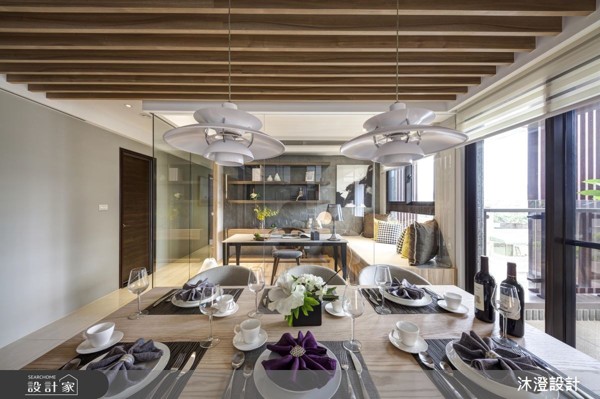 71坪新成屋(5年以下)_北歐風餐廳案例圖片_沐澄設計有限公司_沐澄_34之4