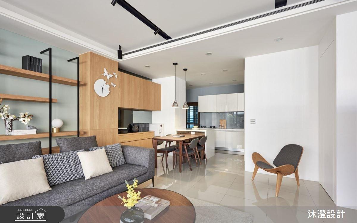32坪新成屋(5年以下)_現代風餐廳案例圖片_沐澄設計有限公司_沐澄_36之5