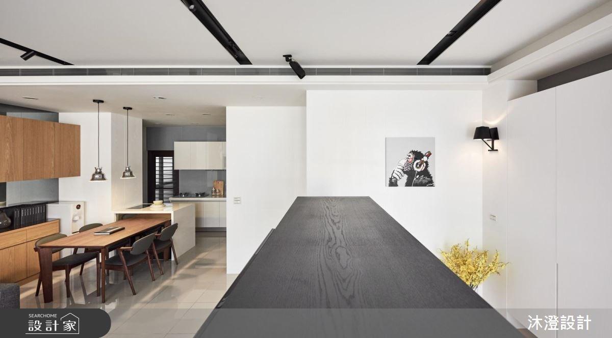 32坪新成屋(5年以下)_現代風餐廳案例圖片_沐澄設計有限公司_沐澄_36之6