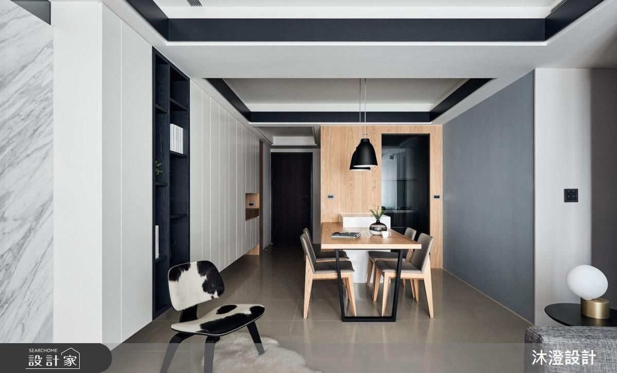 48坪新成屋(5年以下)_現代風餐廳案例圖片_沐澄設計有限公司_沐澄_38之3