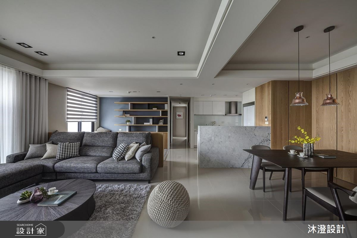 60坪新成屋(5年以下)_現代風客廳案例圖片_沐澄設計有限公司_沐澄_44之3