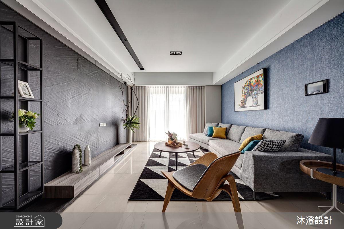 52坪新成屋(5年以下)_現代風客廳案例圖片_沐澄設計有限公司_沐澄_51之2