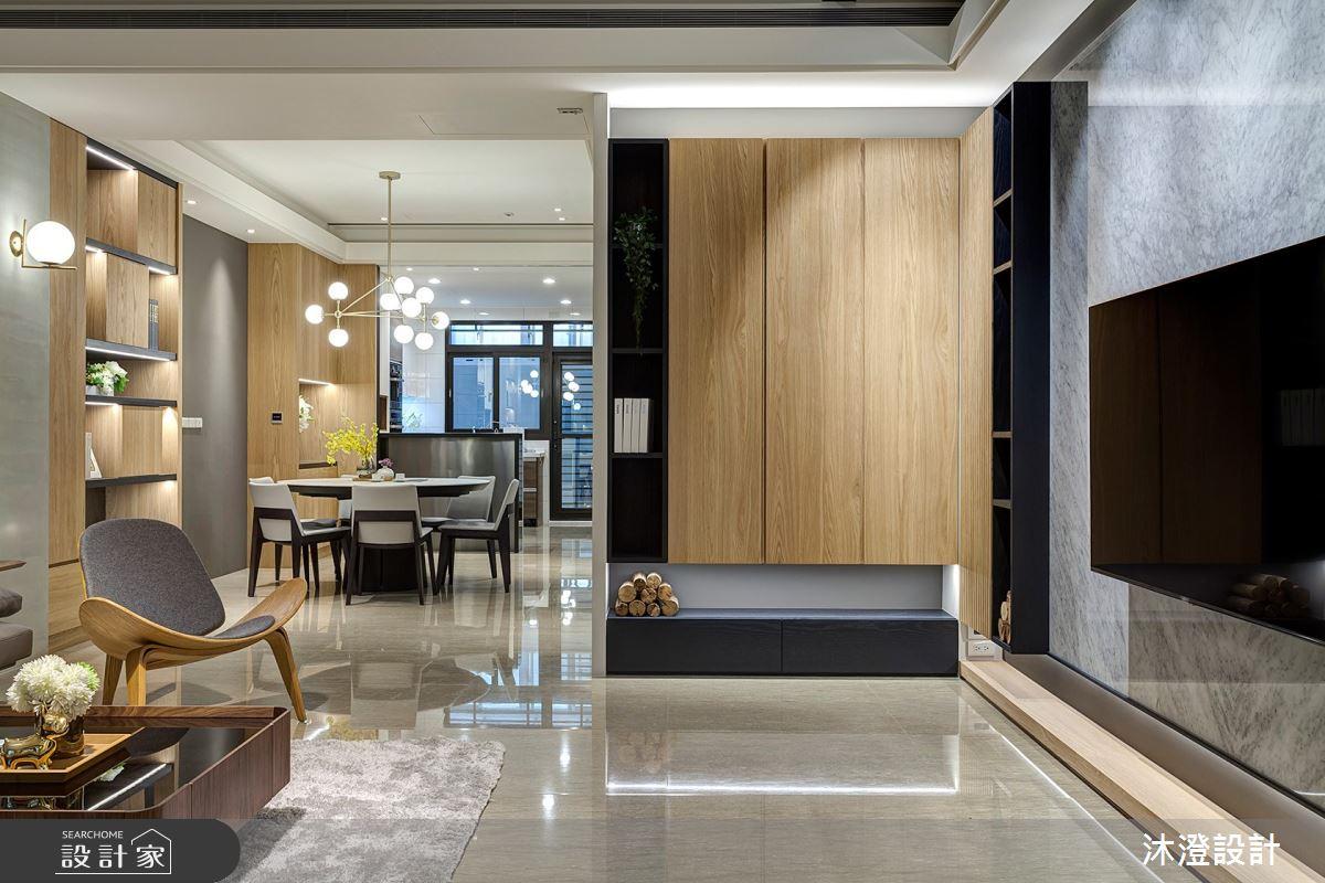 85坪新成屋(5年以下)_北歐風客廳案例圖片_沐澄設計有限公司_沐澄_60之2